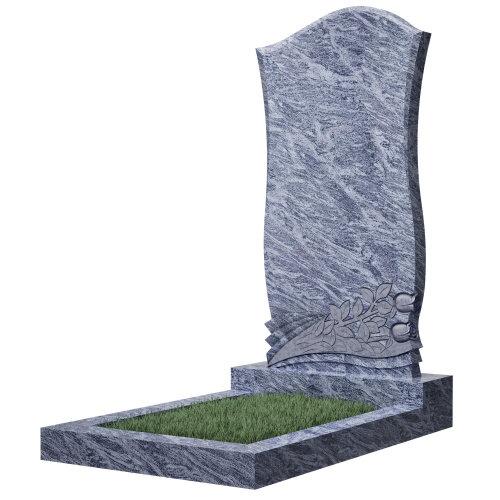 Памятник №48Е (голубой гранит)