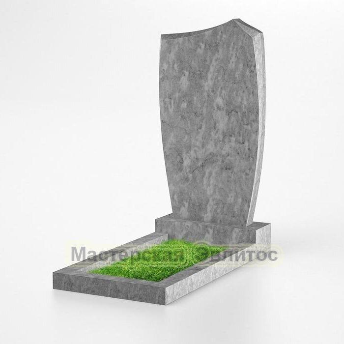 Фигурный памятник из мрамора №131