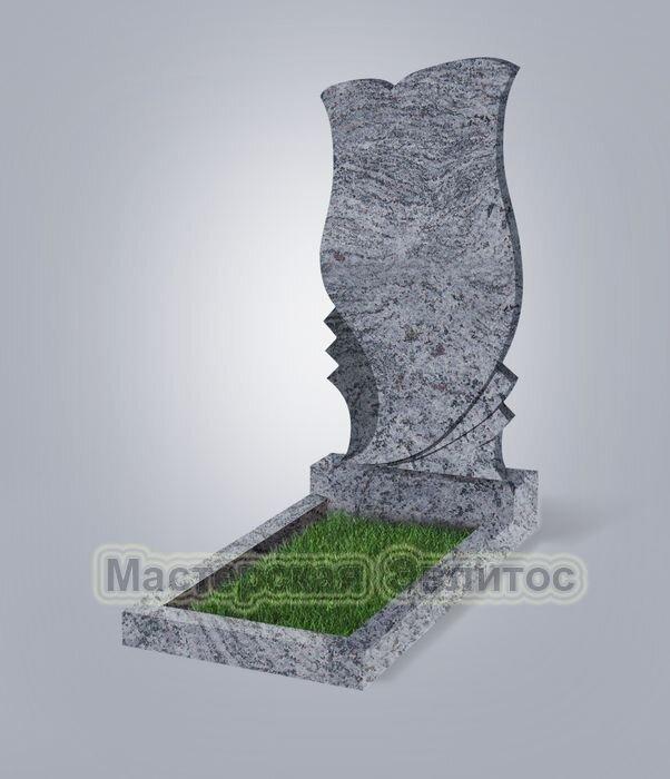 Памятник №53 (голубой гранит)