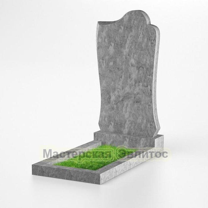 Фигурный памятник из мрамора №132