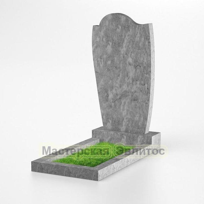 Фигурный памятник из мрамора №135