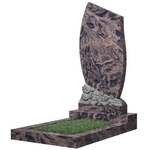 Памятник №92 (красный гранит)