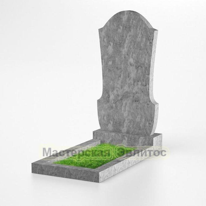 Фигурный памятник из мрамора №137