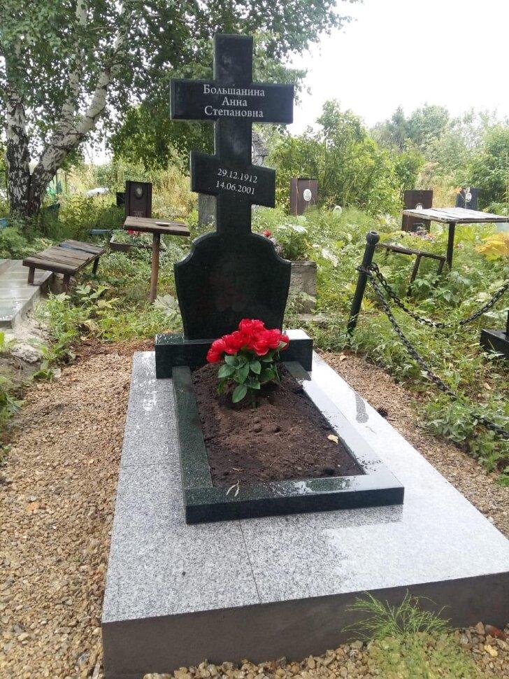 Памятник №40 (черный гранит)