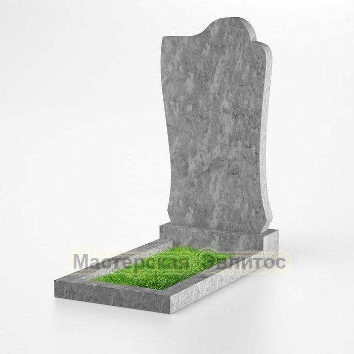 Фигурный памятник из мрамора №138