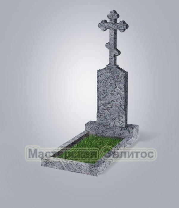 Памятник №69 (голубой гранит)
