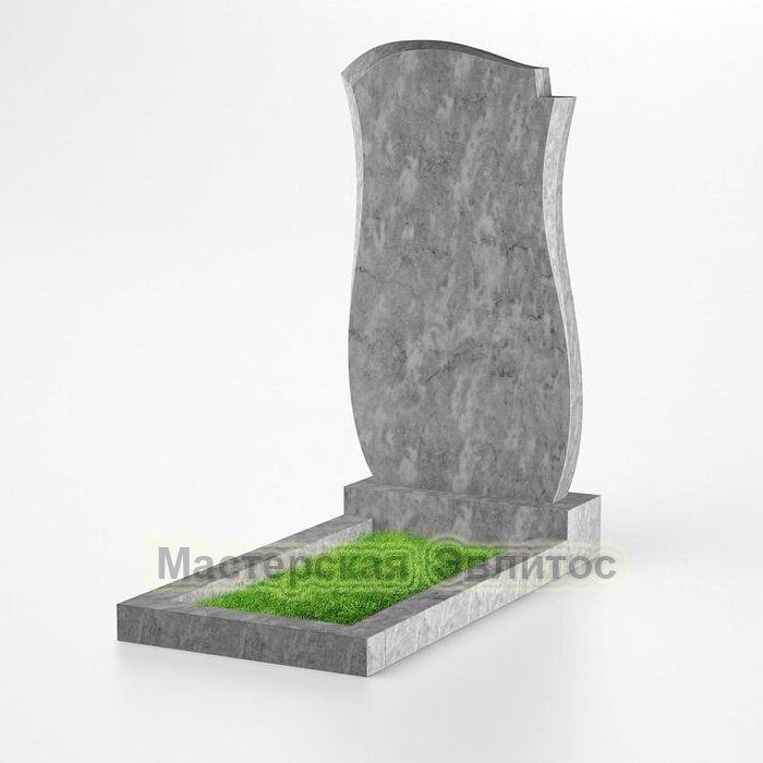 Фигурный памятник из мрамора №139