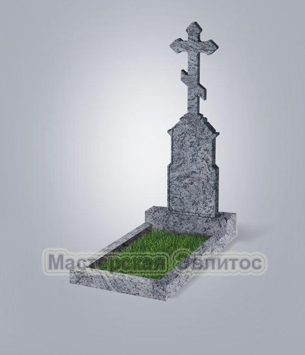 Памятник №70 (голубой гранит)