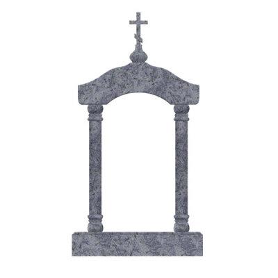 Памятник №24 арка (голубой гранит)