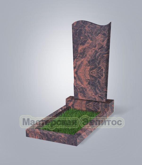 Памятник №13 (коричневый гранит)