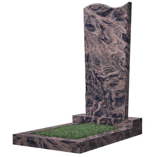 Памятник №13 (коричневый гранит) в Томске