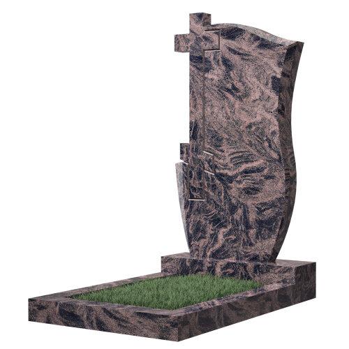 Памятник №74 (голубой гранит)