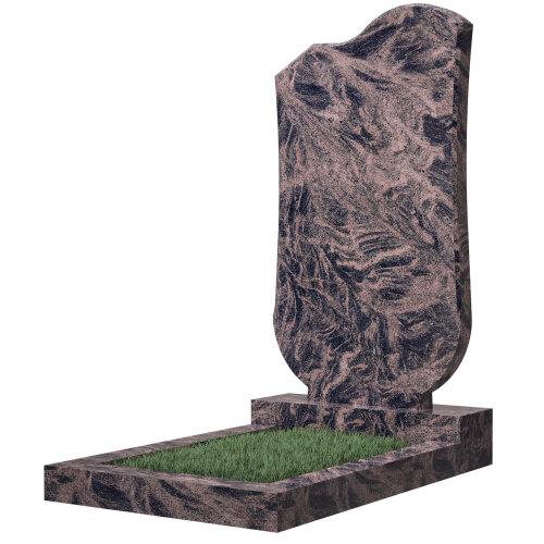 Памятник №15 (коричневый гранит)