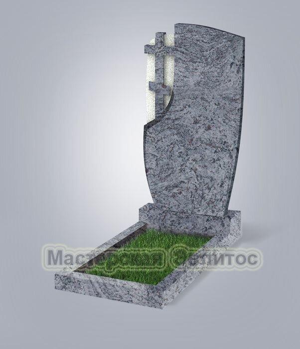 Памятник №75 (голубой гранит)