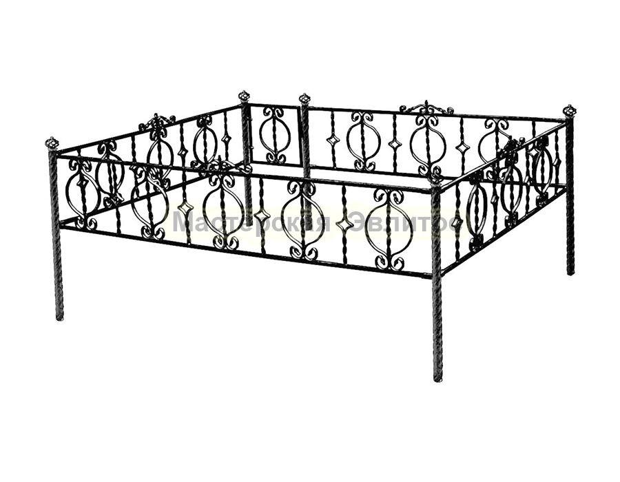 Металлическая ограда Т4 в Томске