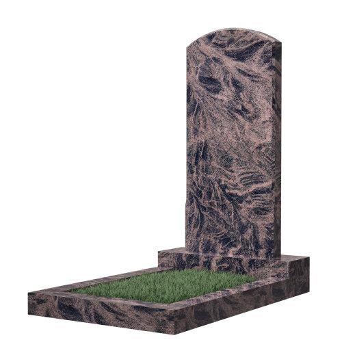 Памятник №18 (коричневый гранит)