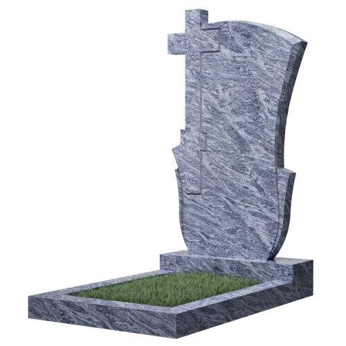 Памятник №76 (голубой гранит)