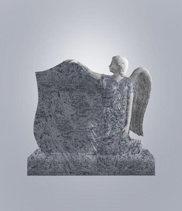 Памятник элитный №15 (голубой гранит)