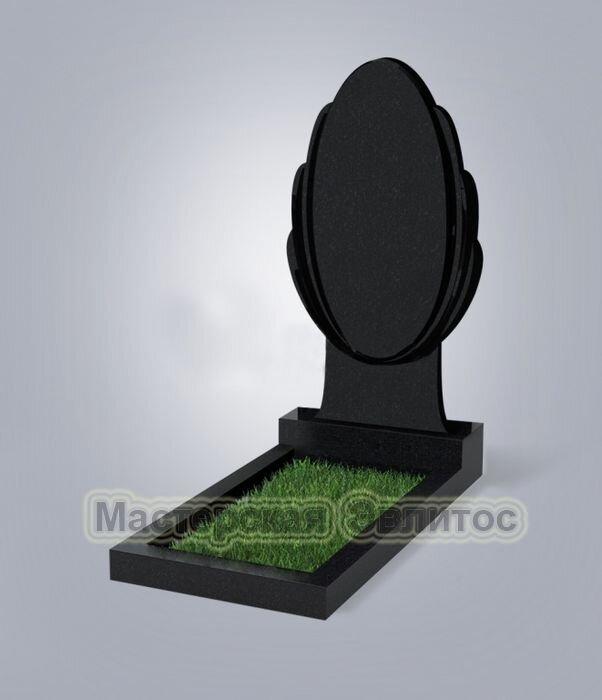 Памятник №45 (черный гранит)