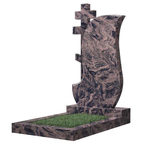 Памятник №77 (голубой гранит)