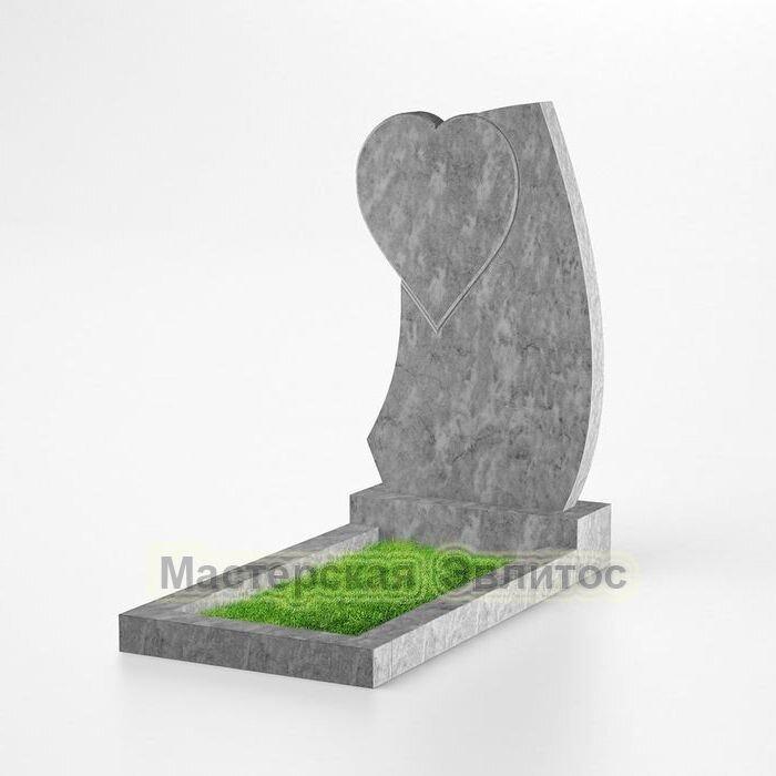 Фигурный памятник из мрамора №144