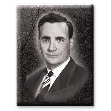 Портрет с имитацией гравировки №140Б