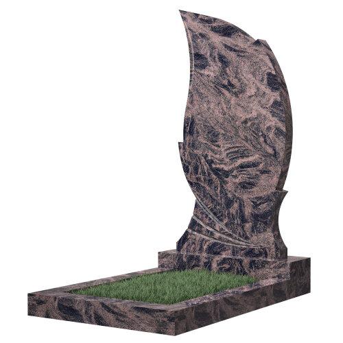 Памятник №47 (черный гранит) в Томске