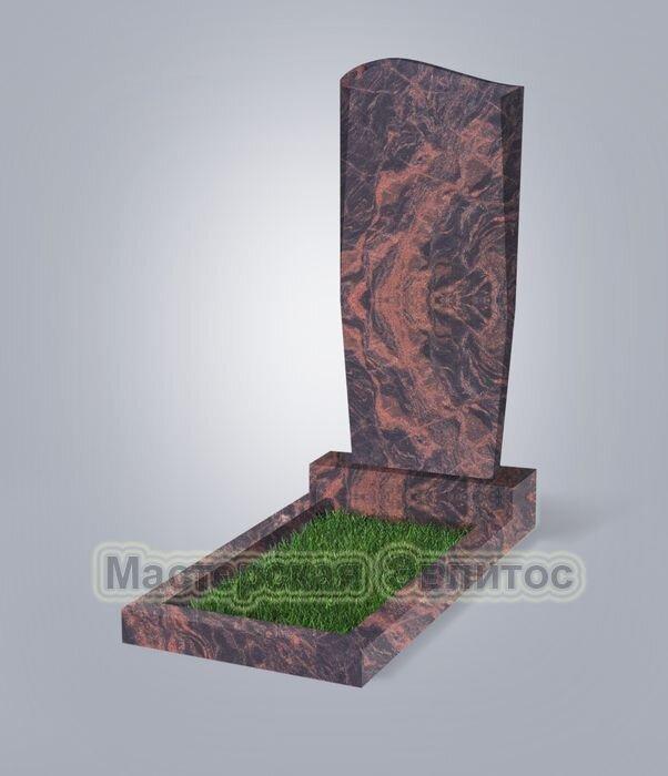 Памятник №21 (коричневый гранит)