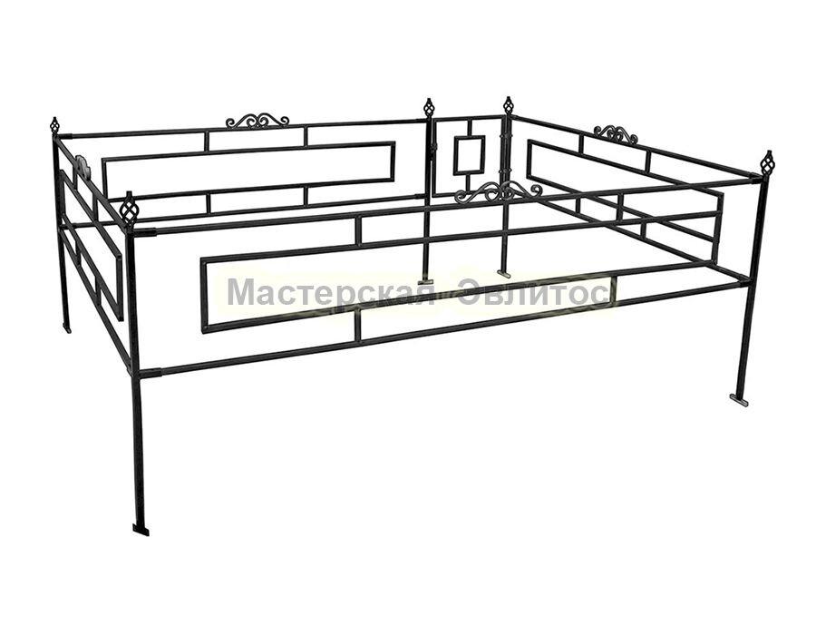 Металлическая ограда Т9