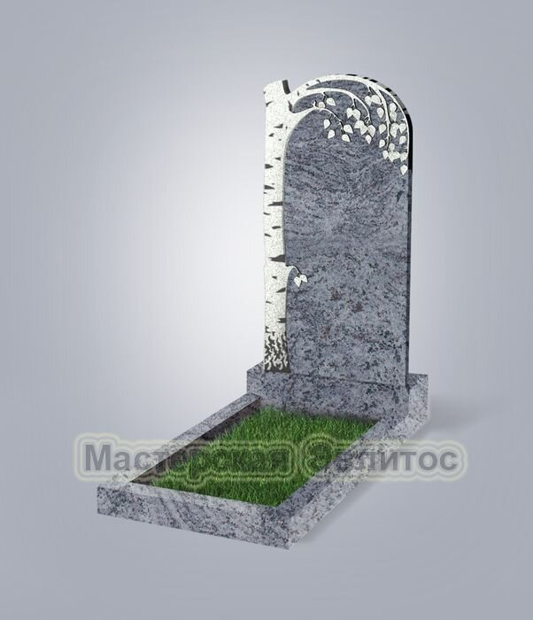 Памятник №84 (голубой гранит)