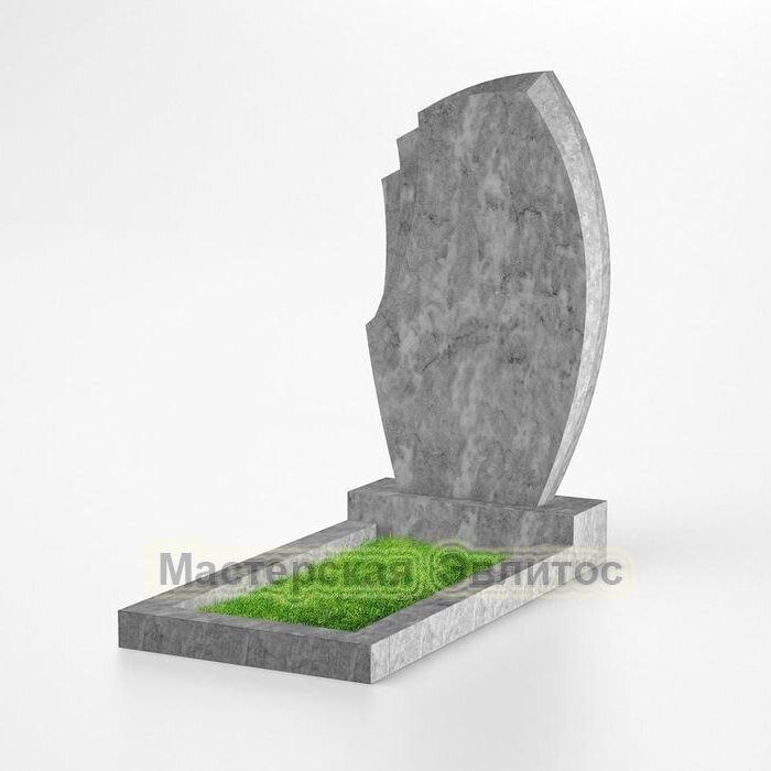 Фигурный памятник из мрамора №149