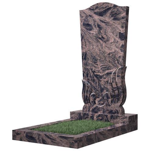 Памятник №32 (коричневый гранит)