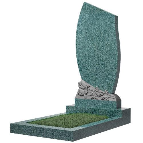 Памятник №92 (голубой гранит) в Томске