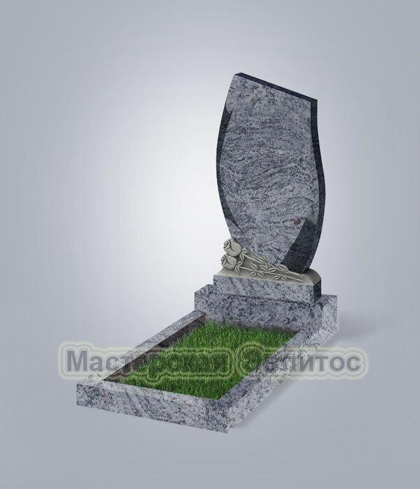 Памятник №92 (голубой гранит)