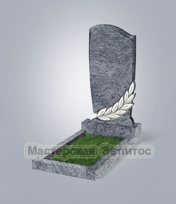 Памятник №96 (голубой гранит)