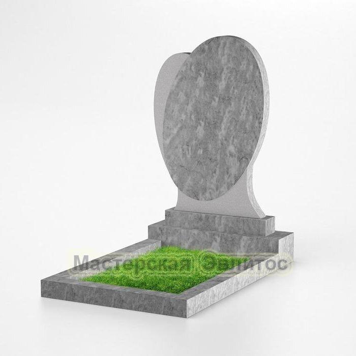 Фигурный памятник из мрамора №152