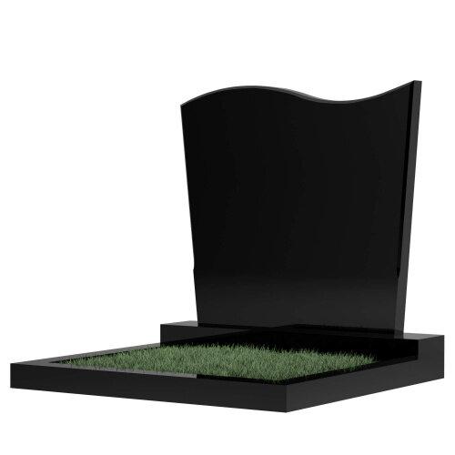 Семейный памятник №16 (черный гранит)