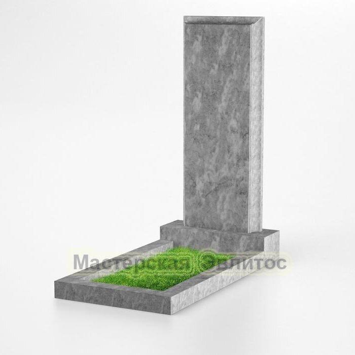 Фигурный памятник из мрамора №153