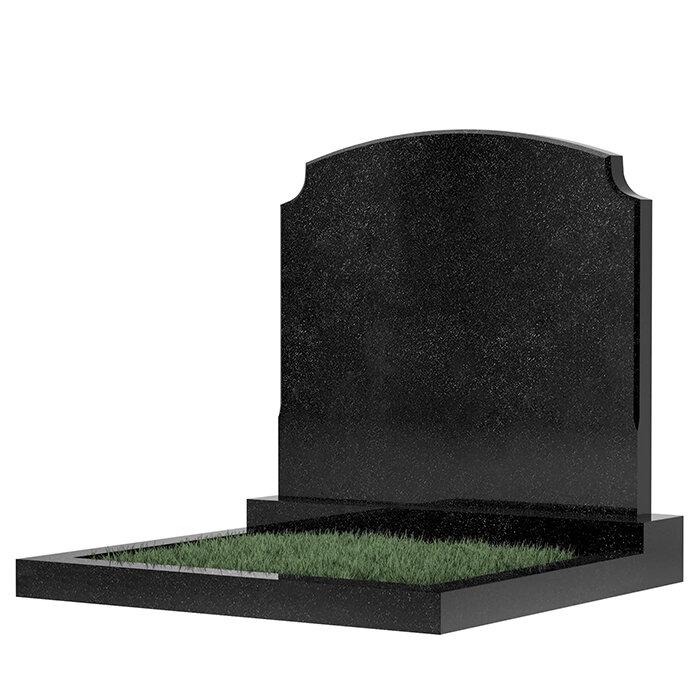 Семейный памятник №17 (черный гранит)