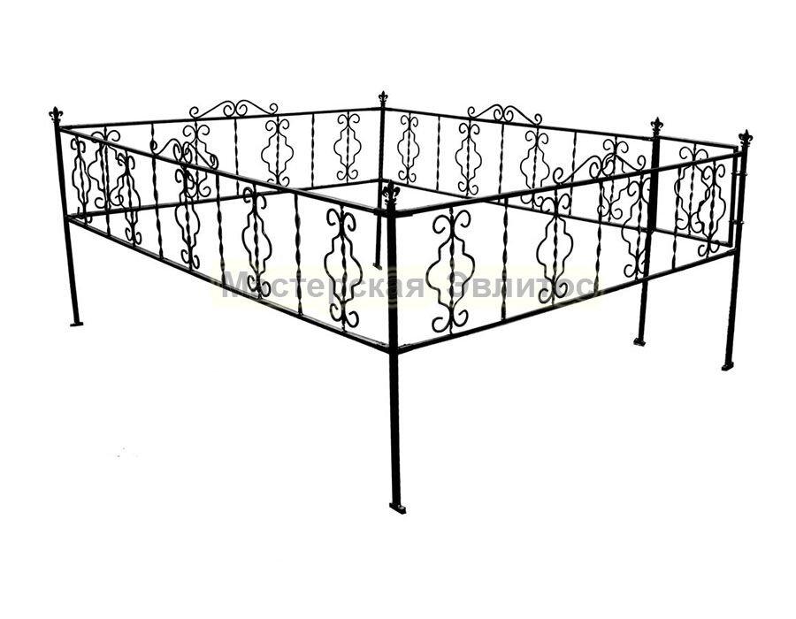 Металлическая ограда Т18