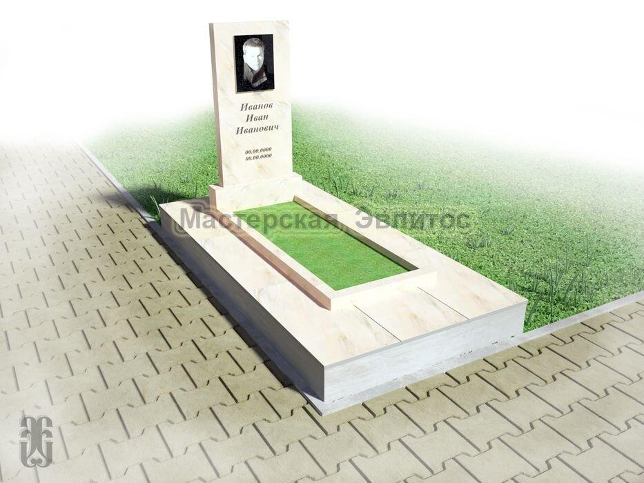 Готовый проект памятника ГПМ №8
