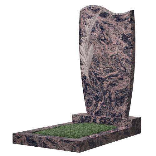 Памятник №42Е (коричневый гранит)