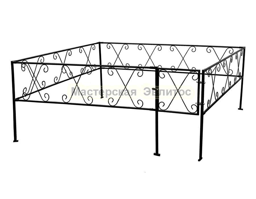 Металлическая ограда Т19