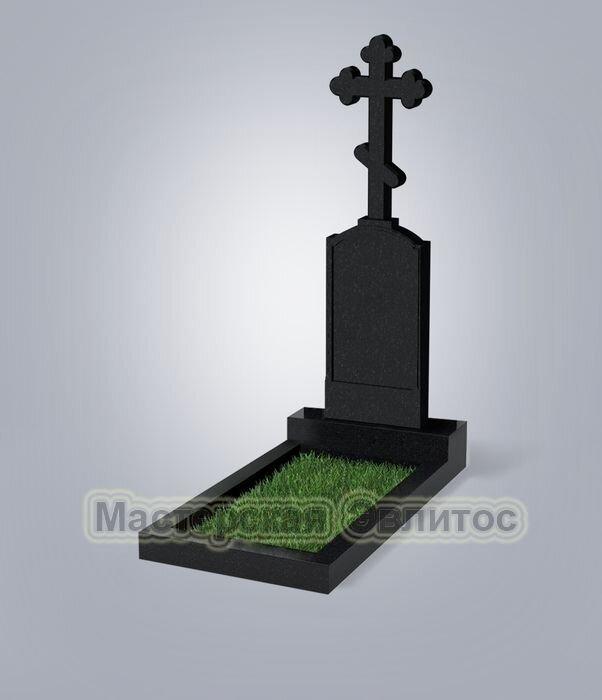 Памятник №69 (черный гранит) в Томске