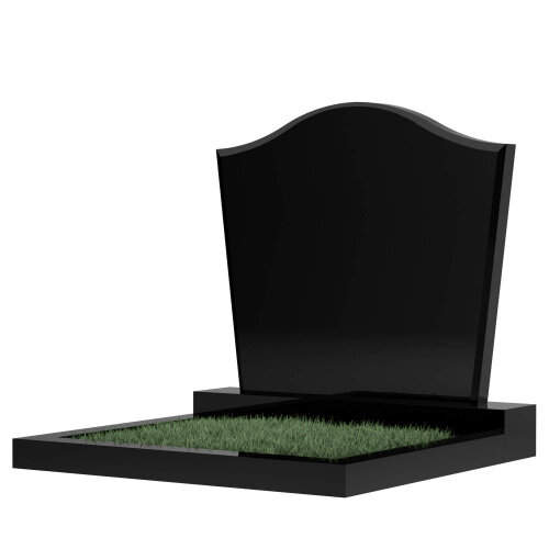 Семейный памятник №60 (черный гранит)