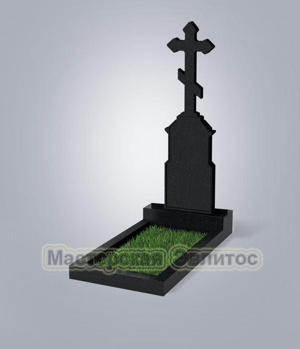 Памятник №70 (черный гранит)