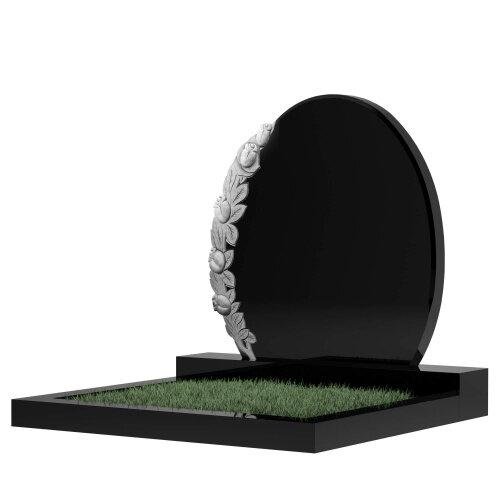 Семейный памятник №63 (черный гранит)