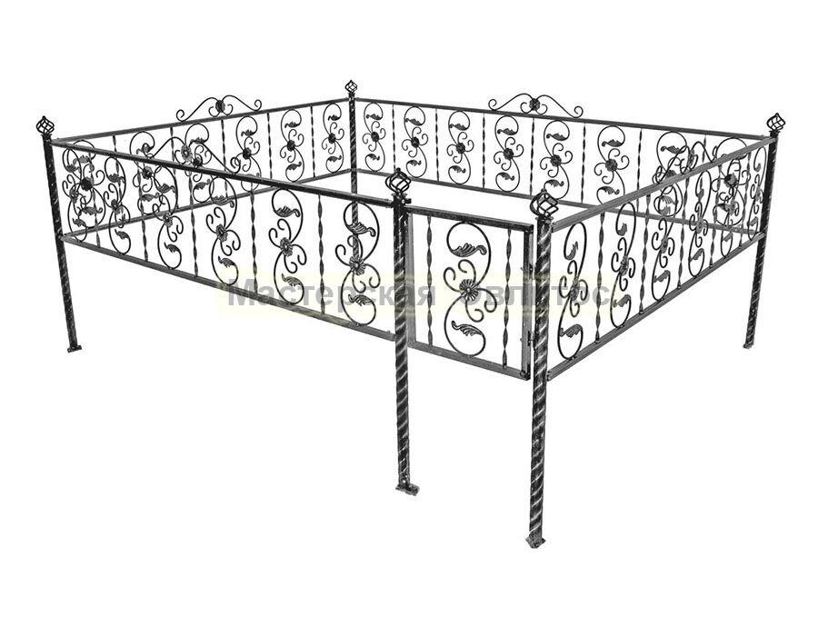 Металлическая ограда Т21