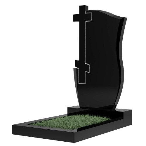 Памятник №74 (черный гранит)