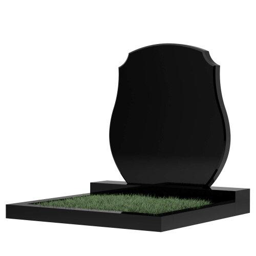 Семейный памятник №64 (черный гранит)